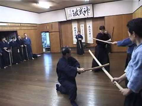 剑术--香取神道流Katori Shinto Ryu Demonstration by Otake Sensei