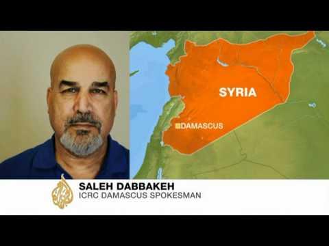 ICRC's Saleh Dabbakeh on Homs aid convoy