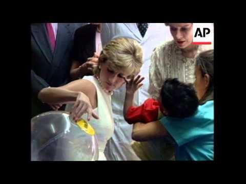 ARGENTINA: BRITAIN'S PRINCESS DIANA VISIT
