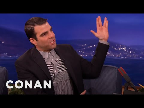 "Zachary Quinto On ""The Slap""  - CONAN on TBS"