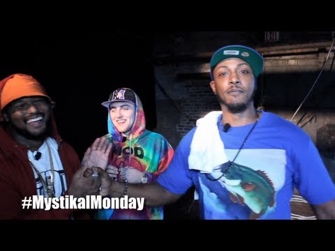 #MystikalMonday - Ep9 - Behind BET's 2012 Hip Hop Cypher [NYC]
