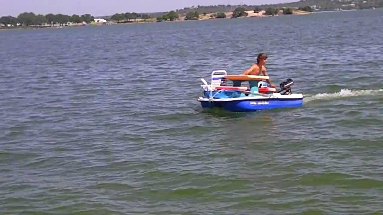 Redneck Paddle Boat Youtube