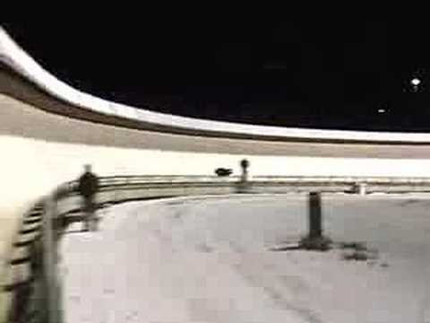 US Skeleton Devo Team Calgary Crash Reel
