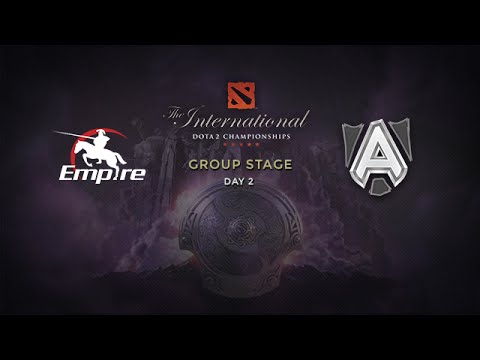 Alliance -vs- Empire, The International 4, Group Stage, Day 2