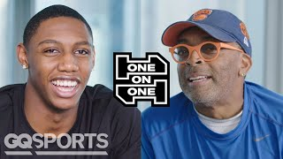 RJ Barrett and Spike Lee Have an Epic Conversation | One on One | GQ Sports