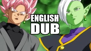 Zamasu And SSJ Rosé Goku Black English Dub - Dragon Ball Super Voices