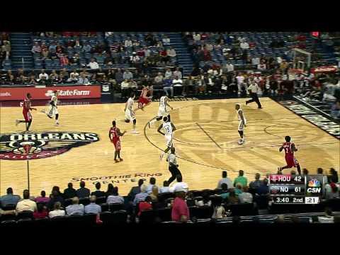 Anthony Davis Shines vs. the Houston Rockets