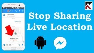 How To Stop Share Live Location To A Group Facebook Messenger Android