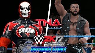 WWE 2K17 My Career Mode 95 2 BEM VINDOS A IMPACT ZONE OUTSIDER STORY VideoMp4Mp3.Com