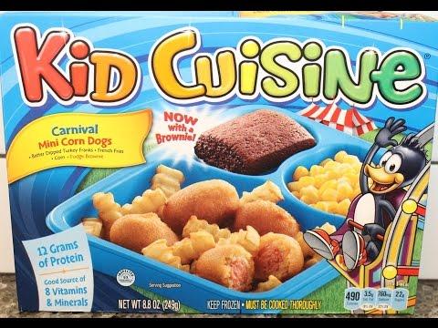 Kid Cuisine Carnival Mini Corn Dogs Review