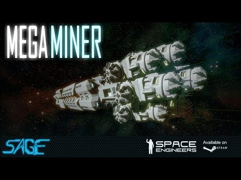 "Space Engineers, Mega Miner, ""The Hogg"""