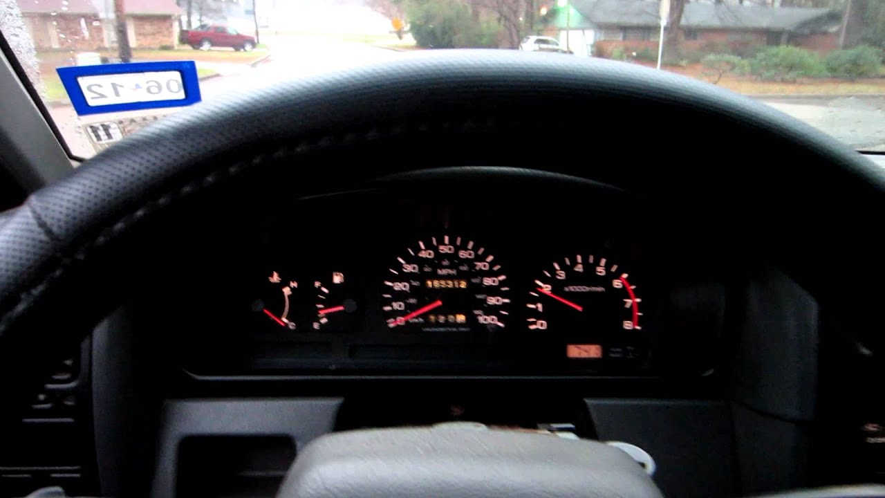 D21 Instrument Cluster Youtube