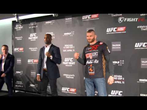 UFC Fight Night 64: Gonzaga vs Cro Cop 2 Face to Face