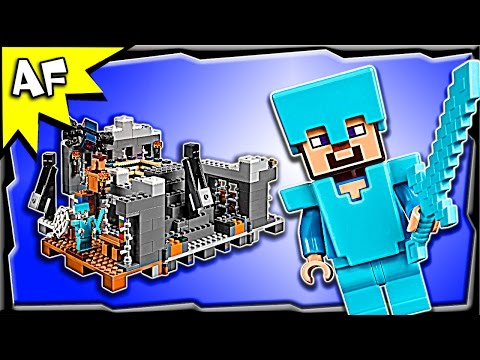 Lego Minecraft END PORTAL 21124 Stop Motion Build Review