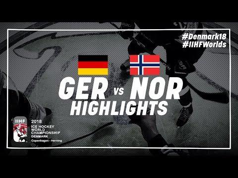 Game Highlights: Germany vs Norway May 6 2018 | #IIHFWorlds 2018
