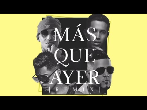 0 - Arcangel Y De La Ghetto Ft RKM y Ken-Y – Más Que Ayer (Lyric Video)
