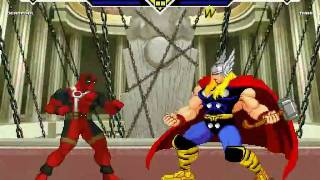 Mugen Deadpool vs Thor