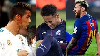 Players Hunting on Neymar, Lionel Messi, Cristiano Ronaldo ● Horror Fouls & Tackles |HD (PART 3)
