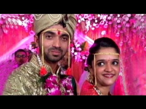 Wedding bells for Ajinkya Rahane