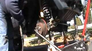 Jeep Cherokee Front Wheel Bearing Replacement - Part 3 of 3