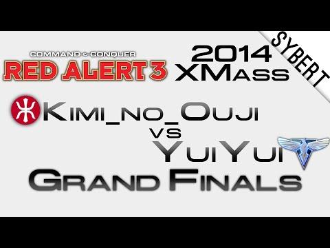 Kimi_no_Ouji[E] vs YuiYui[A] - Grand Final XMass 2014 - Red Alert 3