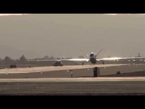 MQ-4C Triton's First Cross-Country Flight