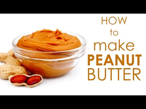 How To Make Peanut Butter - Recipe for People With Diabetes