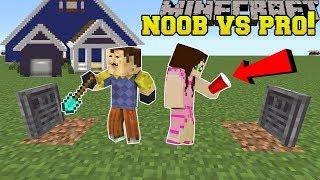 Minecraft: NOOB VS PRO!!! - HELLO NEIGHBOR - Mini-Game
