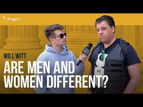 Will Witt Asks People if Men and Women are Different