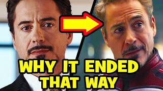 How IRON MAN Predicted AVENGERS ENDGAME - Ending Explained