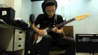 Luna Sea - I For You guitar solo cover by 秋笙
