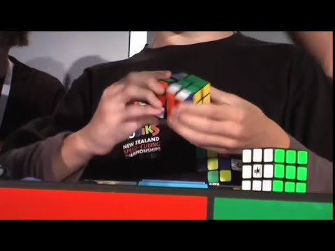 Rubik's cube former world record - Average of 5 - 8.52