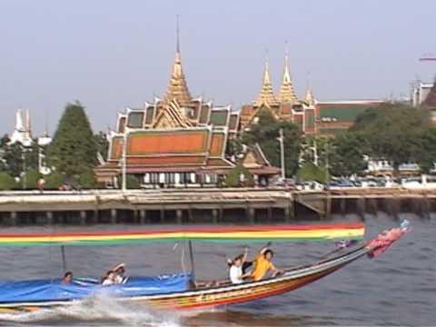 Chao Phraya River Cruise. Ayutthaya to Bangkok. (Thailand and the City of Angels, Episode 4)