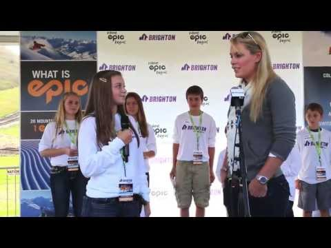 Lindsey Vonn Talks about Sochi 2014