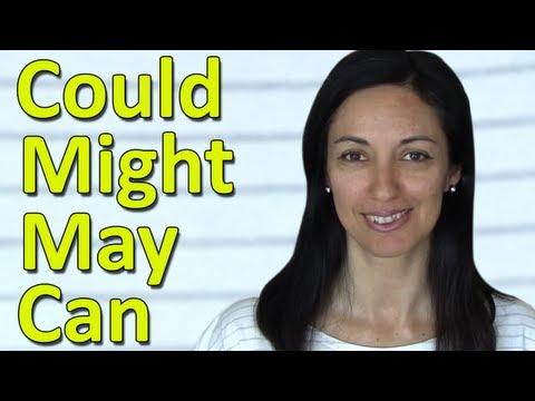 English Modal Verbs | Can - Could - May - Might