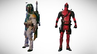 Deadpool vs Boba Fett. Epic Dance Battle of History