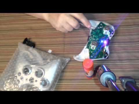 How to install the Solderless Godfather Rapid Fire Chip on Xbox 360 CG Controller.