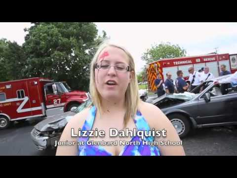 Students see mock DUI crash at Glenbard North High School