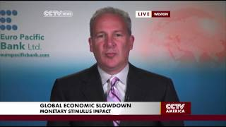 Peter Schiff Discusses Visible Strains in the Global Economic Recovery
