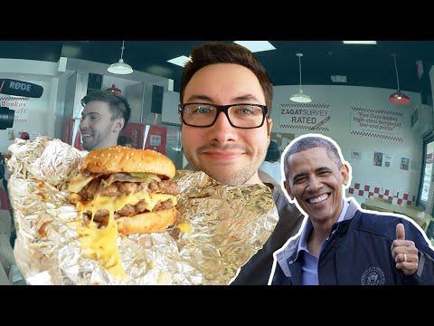 Le Meilleur Hamburger du Monde selon Barack Obama !
