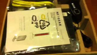 Unboxing Netgear N600(WNDR3800) Wireless Dual Band router - PREMIUM EDITION