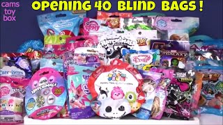40 Blind Bags Opening Surprise Toys Disney MLP Peanuts Toy Story Monster High Trolls Tsum Care Bears