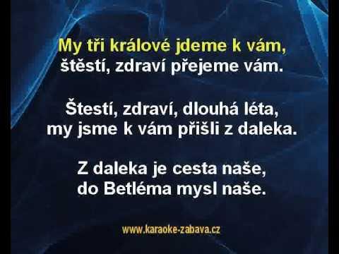 Karaoke Klip My Tři Králové - Koleda