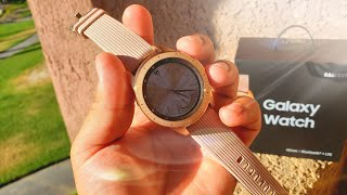 Samsung Galaxy Watch ROSE GOLD Review