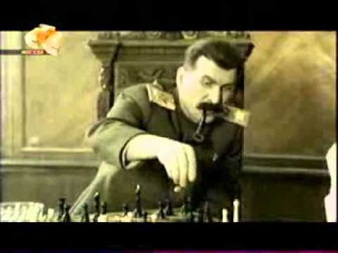 6 кадров. Товарищ Сталин и шахматы