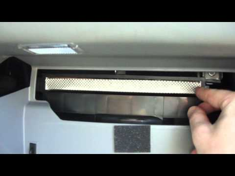 2010 Hyundai Elantra GLS cabin air filter replacement - part 1 of 2