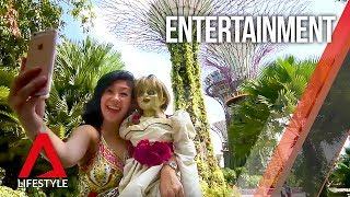 Annabelle visits Singapore
