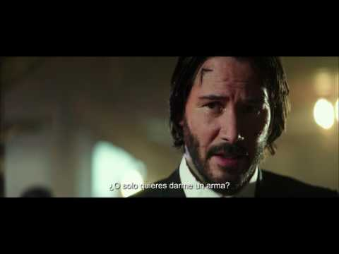 JOHN WICK 2 - UN NUEVO DIA PARA MATAR | Primer tráiler oficial subtitulado con Keanu Reeves