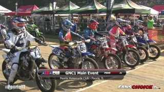 2015 Peoria TT – GNC1 Main Event Full Race (HD) – AMA Pro Flat Track