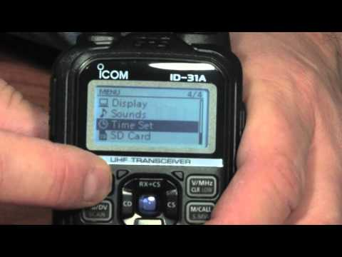 Ham Nation - Icom ID-31A Unboxing